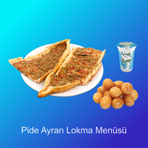 Pide-Ayran-Lokma-Menüsü